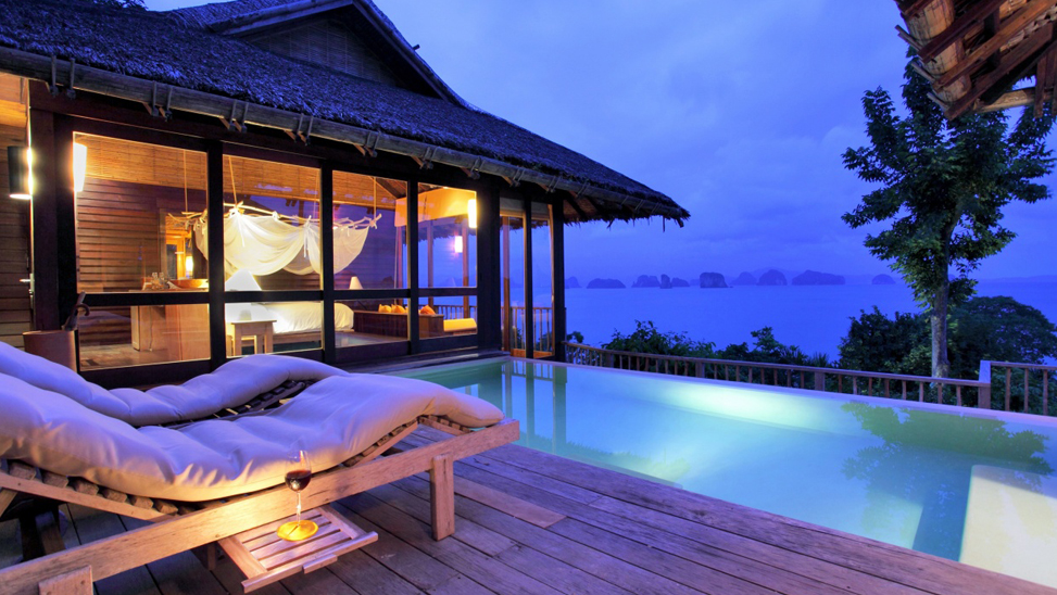 Ocean Panorama Pool Villa en Six Senses Yao Noi