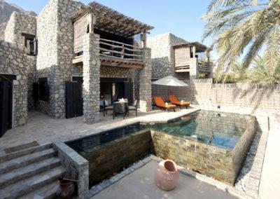 Duplex 2-Bedroom Spa Pool Villa en Six Senses Zighy Bay