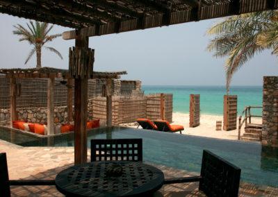 Pool Villa Suite Beachfront en Six Senses Zighy Bay