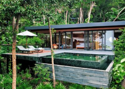 Ocean Pool Villa Suite en Six Senses Krabey Island