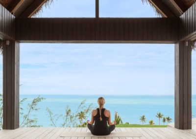 Yoga en Six Senses Fiji