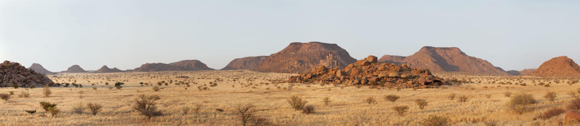 Panorámica de Damaraland