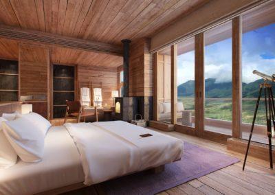 Gangtey, Lodge Suite en Six Senses Bhutan