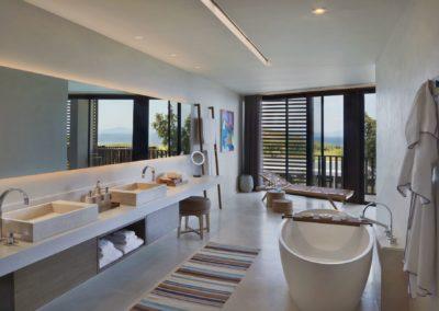 Interior Seaview Kaplankaya Suite with Pool en Six Senses Kaplankaya