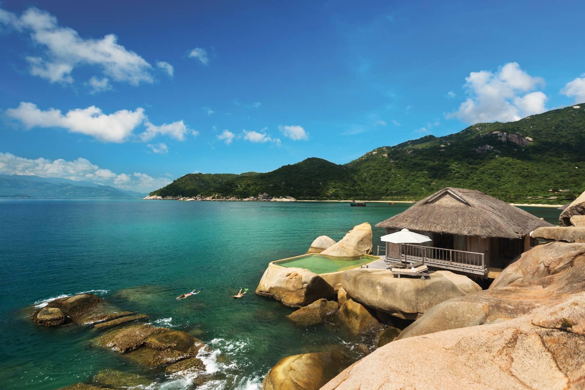 Water Villa en Six Senses Ninh Van Bay