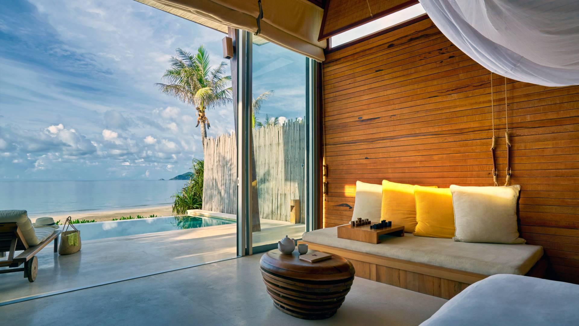Ocean Front Deluxe Pool Villa en Six Senses Con Dao