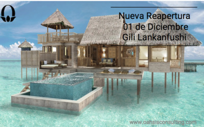 Gili Lankanfushi. Reopening next 01st of December