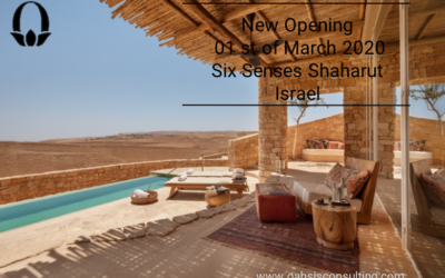 Six Senses Shaharut. New openeing 01st of March in 2020