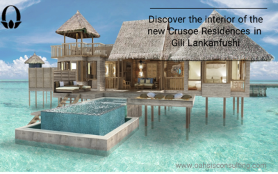 Discover new interior design of Crusoe Residences in Gili Lankanfushi (Maldives)