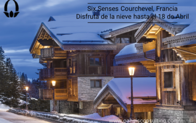 Six Senses Courchevel, France. Prestige among the peaks.