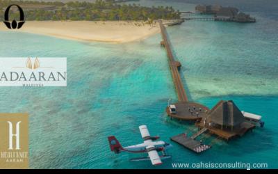 Oahsis Consulting Welcomes Adaaran Resorts & Heritance Aarah Maldives