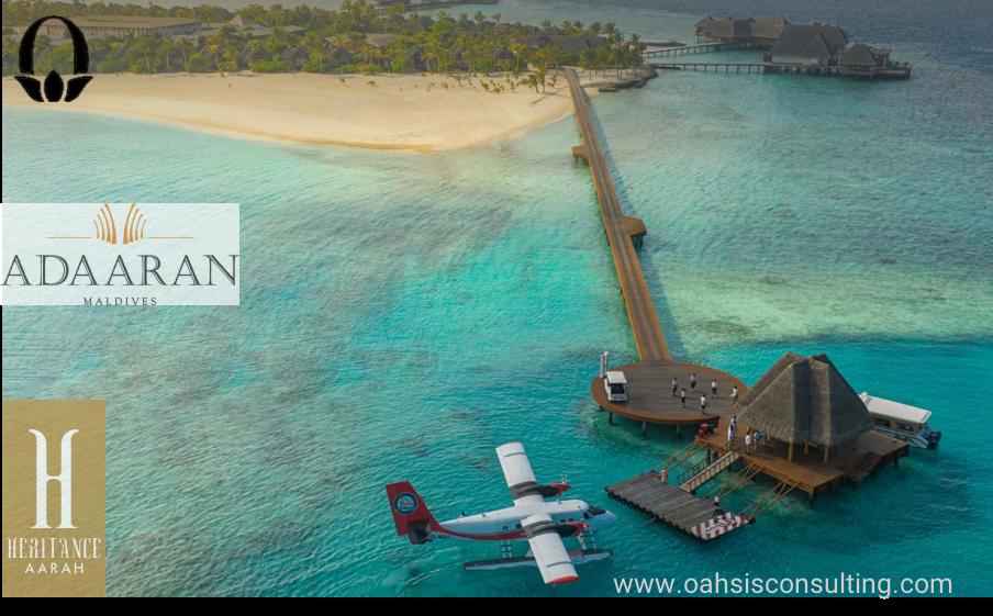Desde Oahsis Consulting damos la bienvenida a Adaaran y Heritance Aarah Maldivas